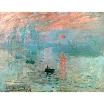 Quadros para o escritório - Quadro -Impression, soleil levant- - Monet, Claude