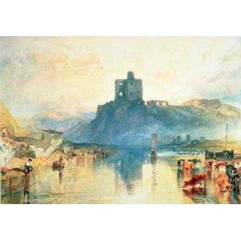 - Quadro -Norham Castle, 1824- - Turner, Joseph M. William