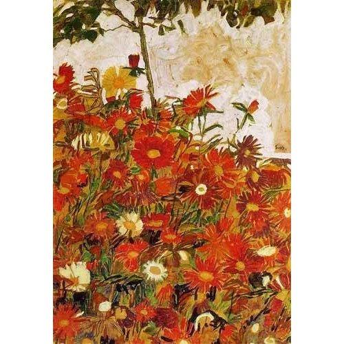 Quadro -Campo de flores-