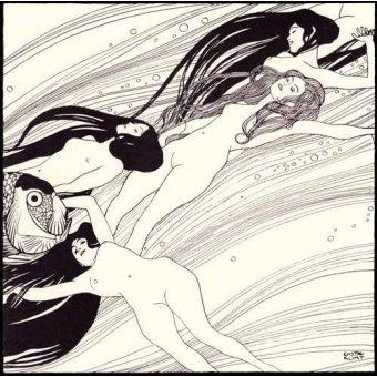 quadros nu artistico - Quadro -Fischblut (2)- - Klimt, Gustav