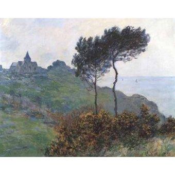 - Quadro -Paisaje en Varengeville- - Monet, Claude