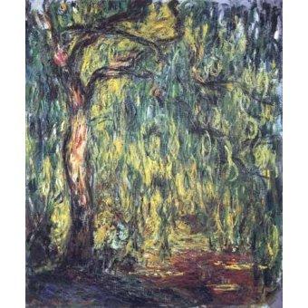 - Quadro -Paisaje, Trauerweide- - Monet, Claude
