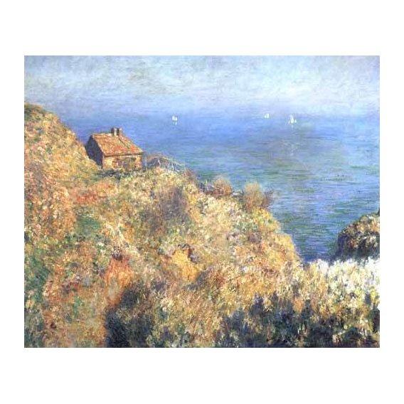 pinturas de paisagens marinhas - Quadro -Cliffs at Varengeville (II).-