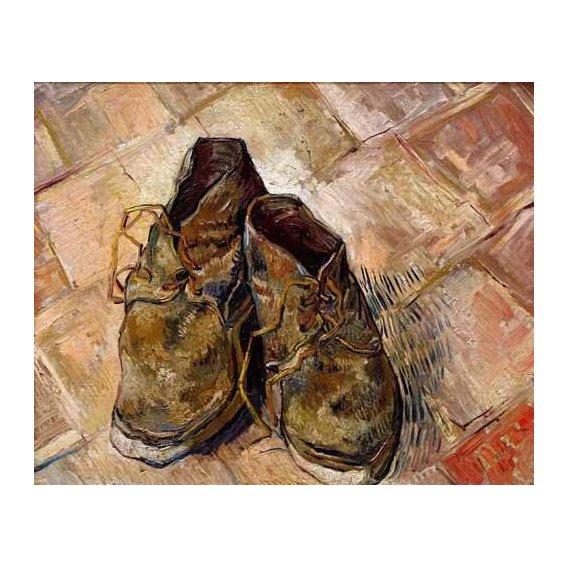 cuadros decorativos - Cuadro -Los zapatos de Van Gogh-