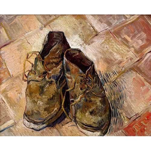 decorative paintings - Picture -Los zapatos de Van Gogh-