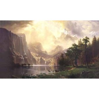 - Quadro -Sierra-Nevada- - Bierstadt, Albert