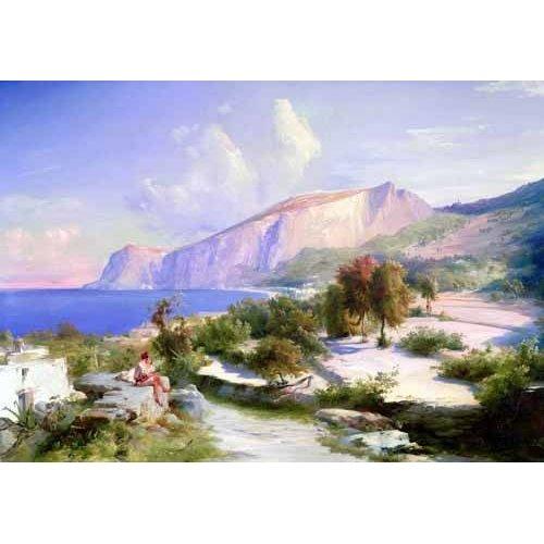Quadro -Marina grande, Capri-