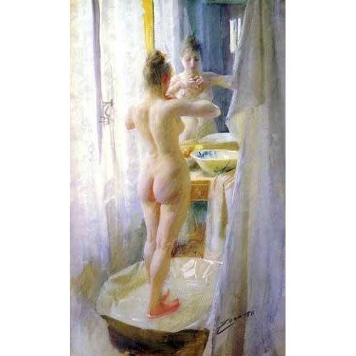 Cuadro -Mujer en la tina-