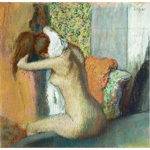 Picture -Mujer secandose el cuello, 1898-