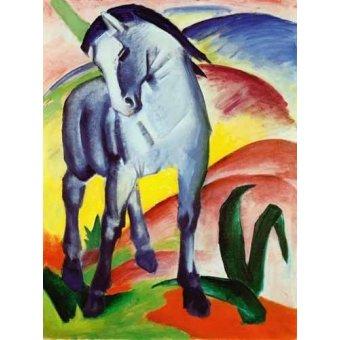 cuadros de fauna - Cuadro -Caballo azul- - Marc, Franz
