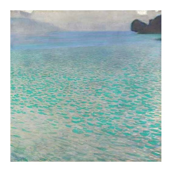 pinturas de paisagens - Quadro -Attersee, 1901-