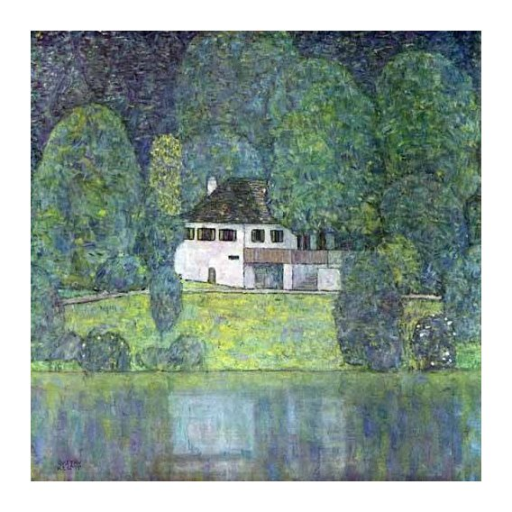 pinturas de paisagens - Quadro -Litzlbergerkeller am Attersee-