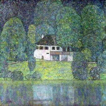 - Quadro -Litzlbergerkeller am Attersee- - Klimt, Gustav
