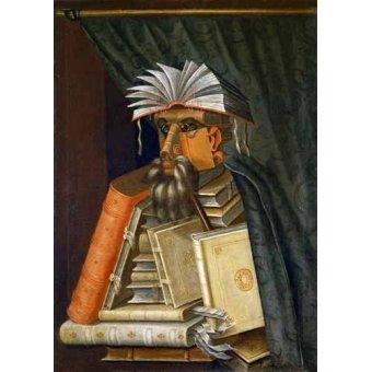 - Quadro -El Bibliotecario- - Arcimboldo, Giuseppe