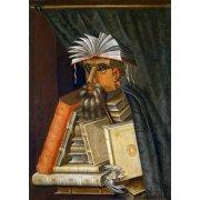 Quadro -El Bibliotecario-