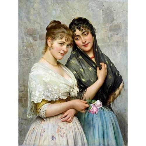 Quadro -Mujeres venecianas-