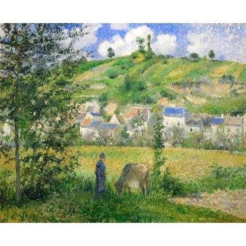 Quadro -Paysage a Chaponvalle, 1880-
