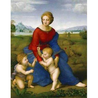 - Quadro -Virgen del prado- - Rafael, Sanzio da Urbino Raffael