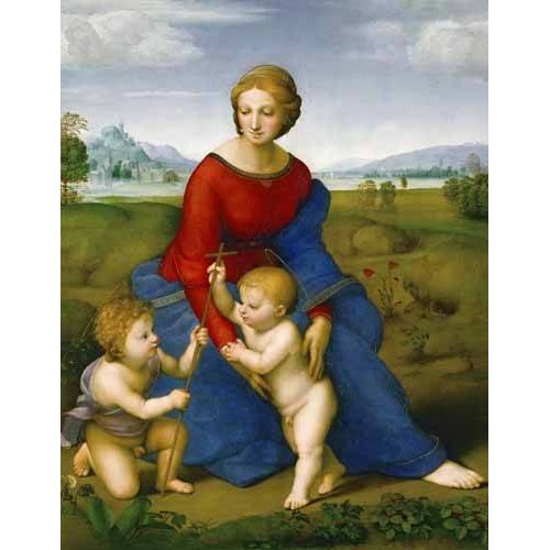 imagens religiosas - Quadro -Virgen del prado-