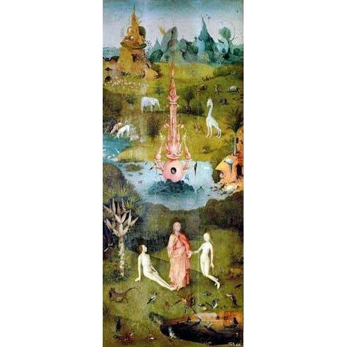 Quadro -El Jardin De Las Delicias (Detalle Panel izquierdo)-