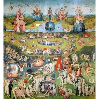 - Quadro -El Jardin De Las Delicias (Detalle Panel central)- - Bosco, El (Hieronymus Bosch)