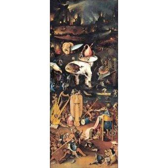 - Quadro -El Jardin De Las Delicias (Detalle panel derecho)- - Bosco, El (Hieronymus Bosch)