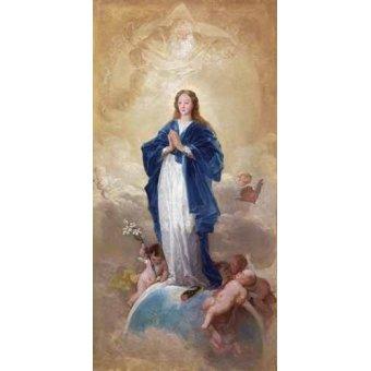 quadros religiosos - Quadro -La Inmaculada Concepción, 1784- - Goya y Lucientes, Francisco de