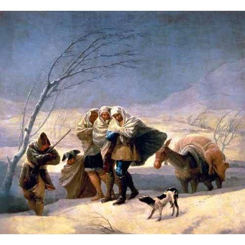 Quadro -El invierno, 1786-87-