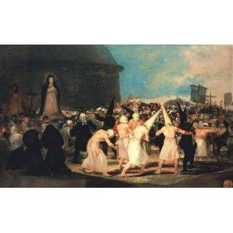 - Quadro -Procesion de flagelantes, 1815-19- - Goya y Lucientes, Francisco de