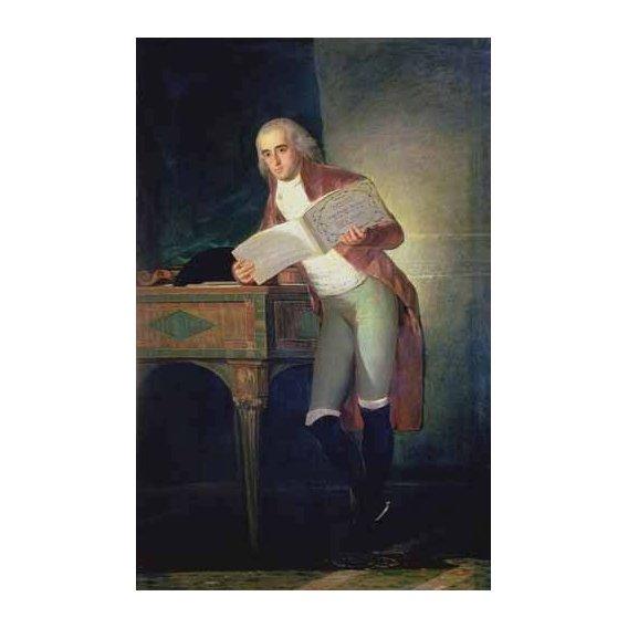 pinturas do retrato - Quadro -El Duque De Alba, 1795-