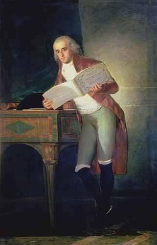 pinturas-de-retratos - Quadro -El Duque De Alba, 1795- - Goya y Lucientes, Francisco de