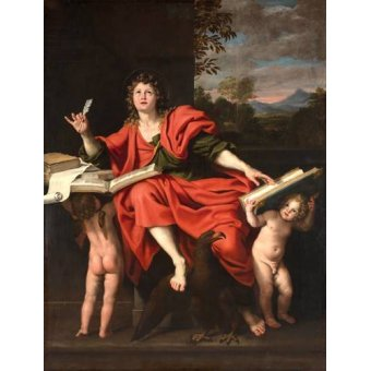 - Quadro -San Juan Evangelista- - Zampieri, Domenichino