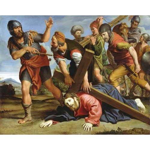 imagens religiosas - Quadro -El Camino al Calvario-