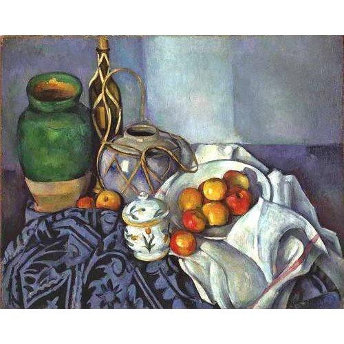 Picture -Bodegón con ollas y frutas, 1890-
