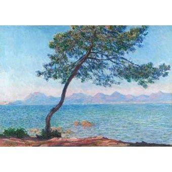 quadros de paisagens marinhas - Quadro -Le montagne de l'Esterel, 1888- - Monet, Claude