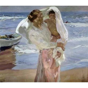 Quadro -Just Out of the Sea, 1915-