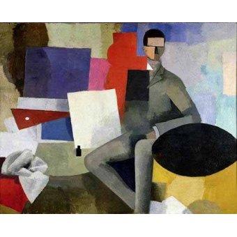 cuadros abstractos - Cuadro -The architect- - Fresnaye, Roger de la