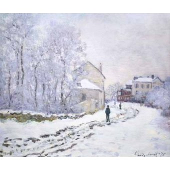 - Quadro -Nevada en Argenteuil, 1875- - Monet, Claude