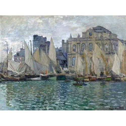 Quadro -Museo Naval En Le Havre-