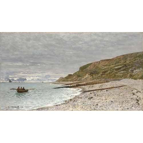 pinturas de paisagens marinhas - Quadro -Sainte-Adresse, La Pointe de la Hève, 1864-