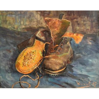 - Quadro -A Pair of Boots- - Van Gogh, Vincent