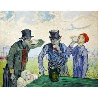 - Quadro -The Drinkers, 1890- - Van Gogh, Vincent