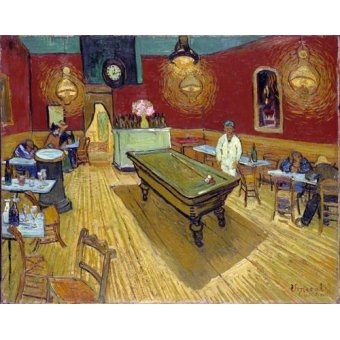 - Quadro -The Night Cafe, 1888- - Van Gogh, Vincent