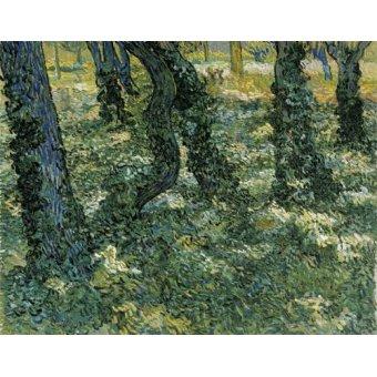 - Quadro -Undergrowth, 1889- - Van Gogh, Vincent