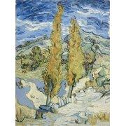 Cuadro -The Poplars at Saint-Remy, 1889-