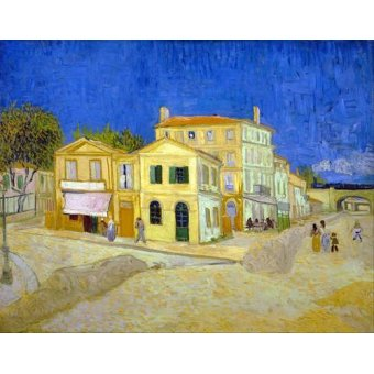 - Quadro -The yellow house, 1888- - Van Gogh, Vincent