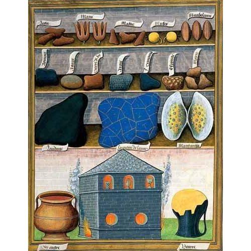 cuadros decorativos - Cuadro -Libro de las medicinas sencillas 2-