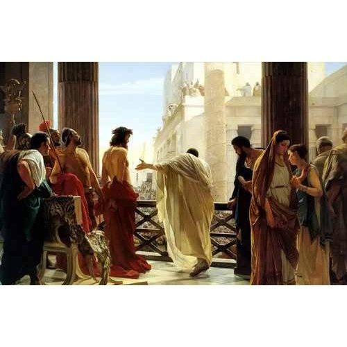 imagens religiosas - Quadro -Ecce Homo, 1880-