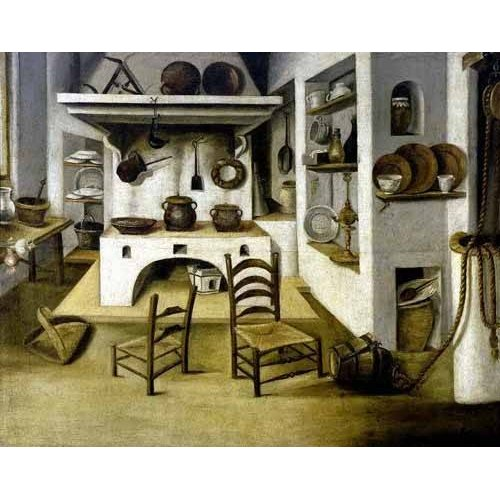 Quadro -La cocina-