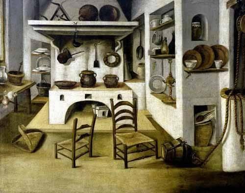 cuadros decorativos - Cuadro -La cocina- - Puga, Antonio